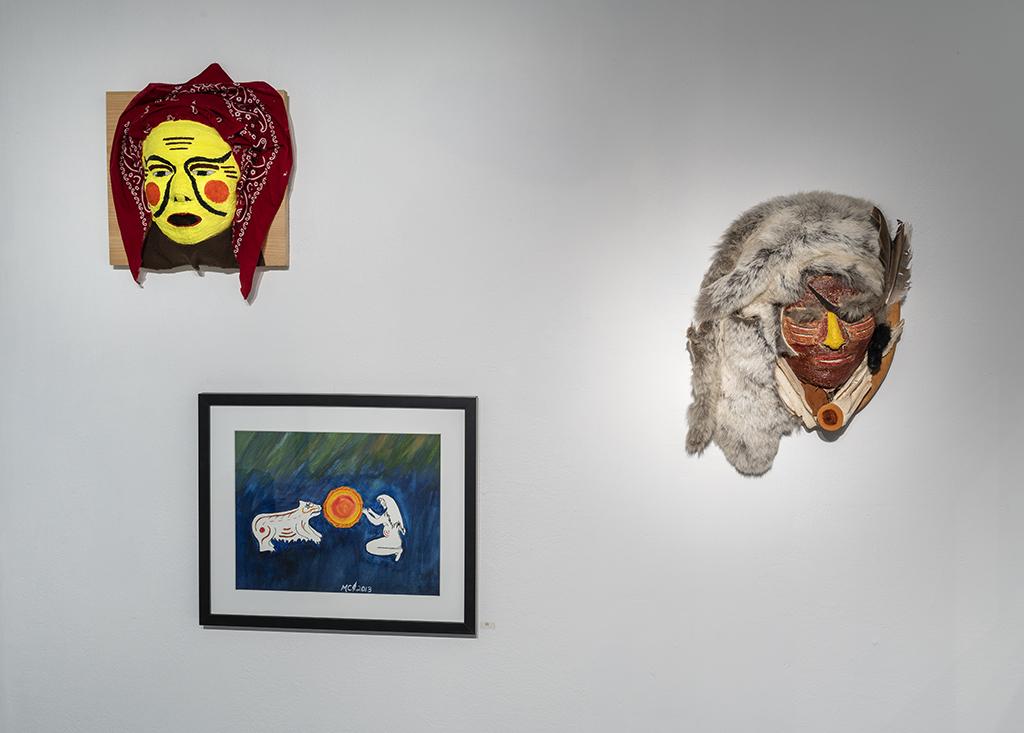 Ma-Nee Chacaby. Vue de l'exposition 4
