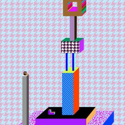 Juxtapositions, 2018, à la Galerie Blanc, Montréal. Commissaire: Nicolas Denicourt.