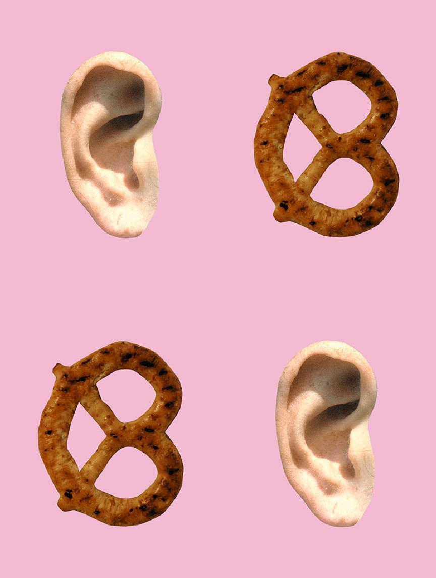 Ear/Pretzel – Pink