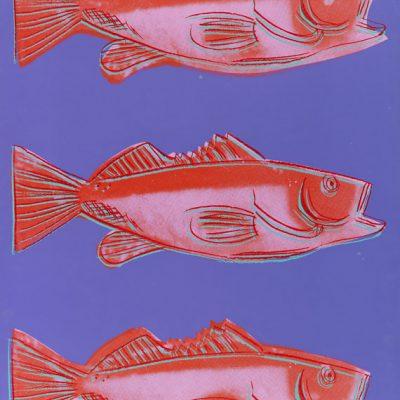 Fish, 1983. Silkscreen in colors. Feldman / Schellmann III A 41a. 108.5 x 77 cm (42.7 x 30.3 in).