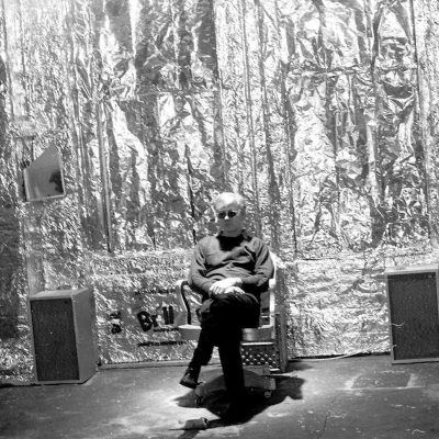 Andy Warhol at the Silver Factory, 1964. © Billy Name / Reel Art Press.