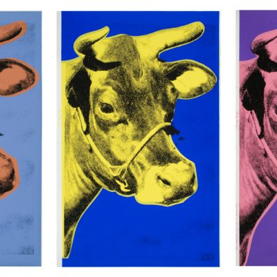 Cows, 1971. © Warhol Foundation for the visual arts.